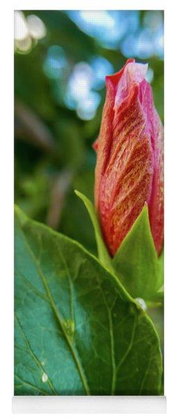 Blooming Hibiscus Yoga Mat
