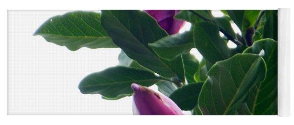 Blossoming Magnolias Yoga Mat