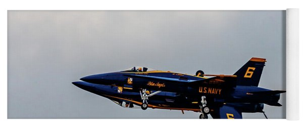 Blue Angels 5 And 6 As One Yoga Mat