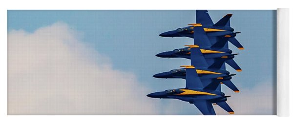 Blue Angels Stack Of 4 Yoga Mat
