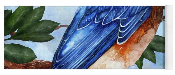 Blue Bird Yoga Mat