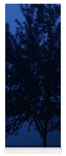 Blue Cherry Tree Yoga Mat