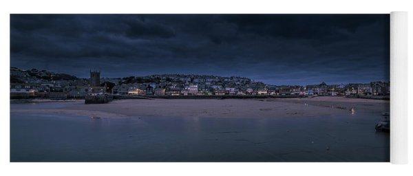 Blue Hour - St Ives Cornwall Yoga Mat