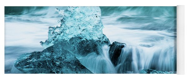 Blue Ice  Yoga Mat