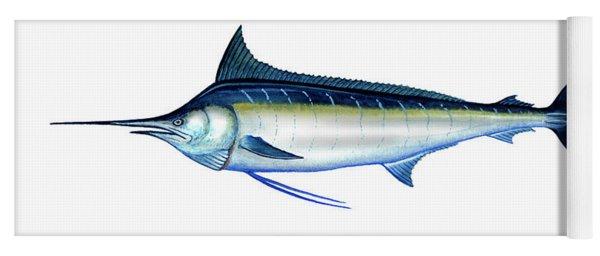 Blue Marlin Yoga Mat