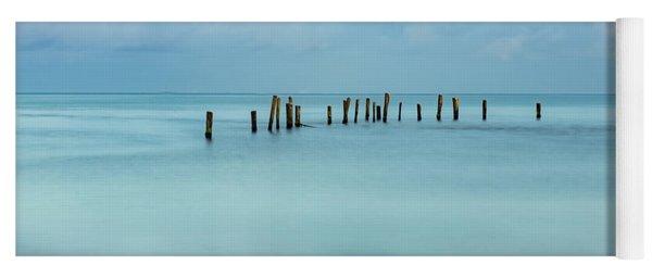 Blue Mayan Sea Yoga Mat