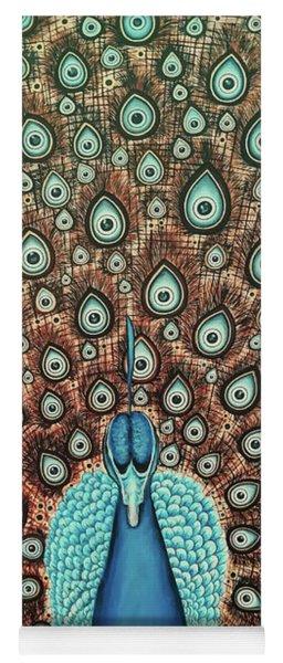 Blue Eyes Yoga Mat