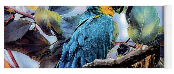 Blue Parrot Yoga Mat