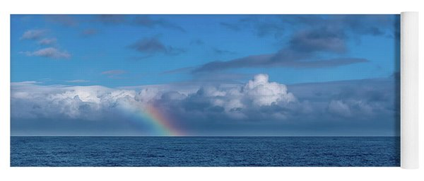 Blue Rainbow Horizon Yoga Mat