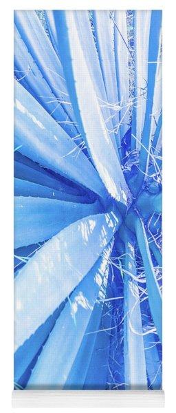 Blue Rays Yoga Mat