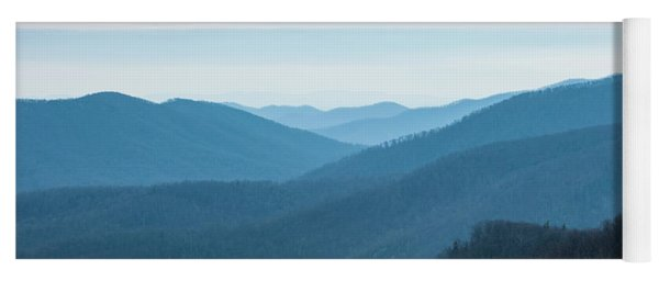 Blue Ridge Mountains Yoga Mat