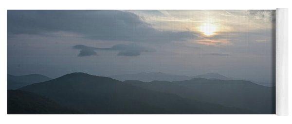 Blue Ridge Parkway Sunset Yoga Mat