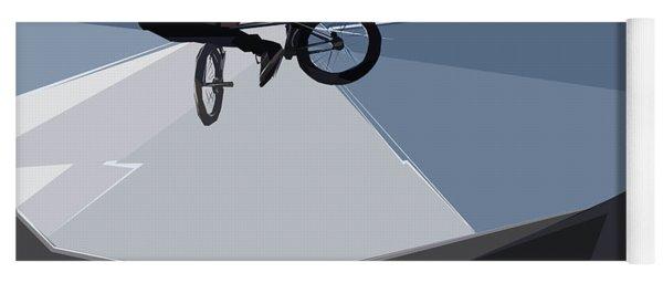 Bmx Biking  Yoga Mat