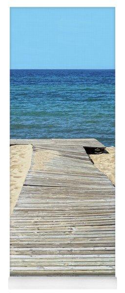 Boardwalk To The Beach Yoga Mat