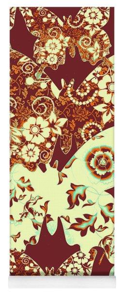 Boho Butterflies Yoga Mat