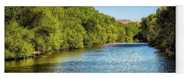 Yoga Mat featuring the photograph Boise River by Jon Burch Photography