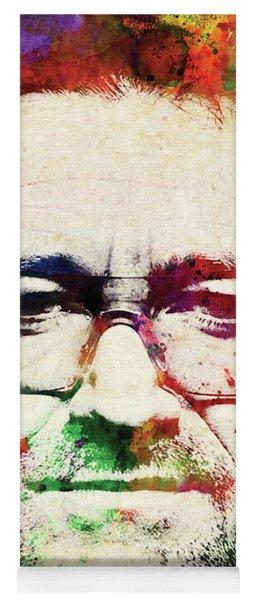 Bono Colorful Watercolor Yoga Mat