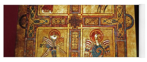 Book Of Kells Yoga Mat