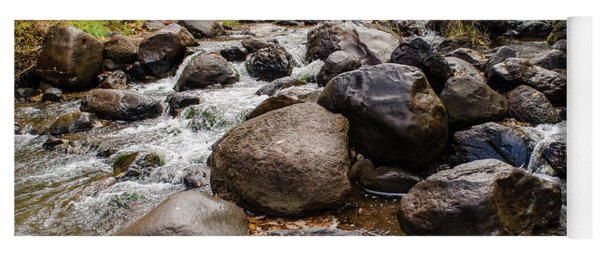 Boulders In Creek Yoga Mat