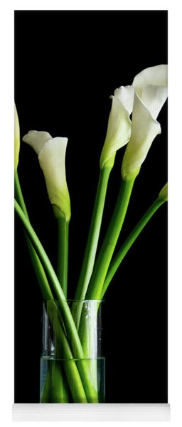 Bouquet Of Calla Lilies Yoga Mat