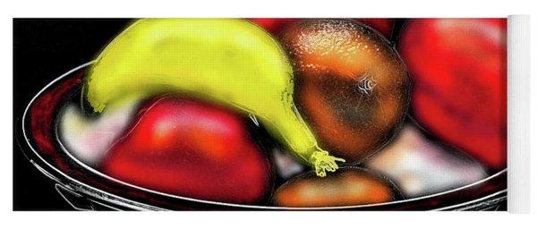 Bowl Of Fruit Yoga Mat