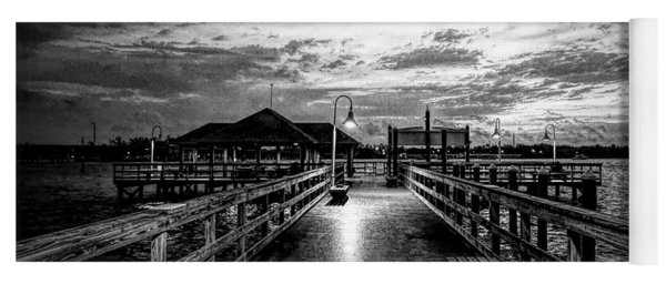 Bradenton Beach City Pier Yoga Mat