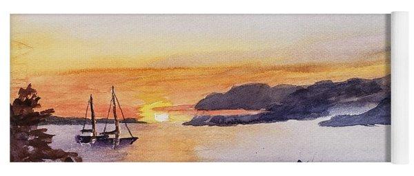 Brakey Bay Sunset Yoga Mat