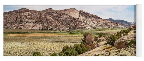 Breathtaking Wyoming Scenery Yoga Mat