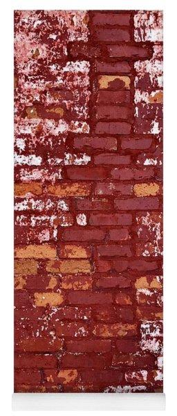 Brick Wall Yoga Mat