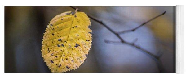 Bright Fall Leaf 1 Yoga Mat
