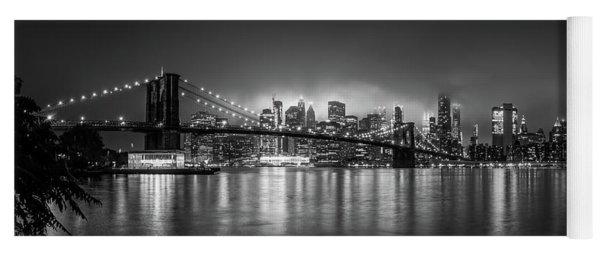 Bright Lights Of New York Yoga Mat