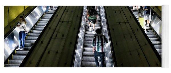 Bright Lights, Tall Escalators Yoga Mat