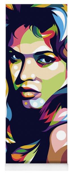 Brigitte Bardot Yoga Mat