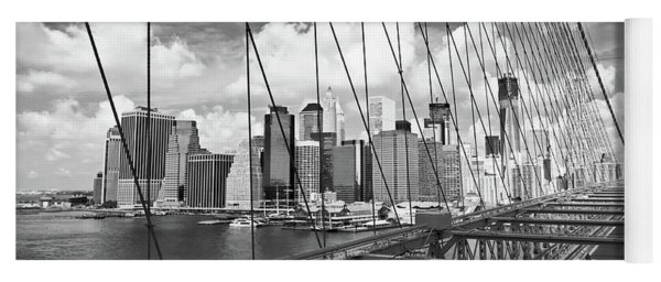 Brooklyn Bridge And Manhattan Yoga Mat