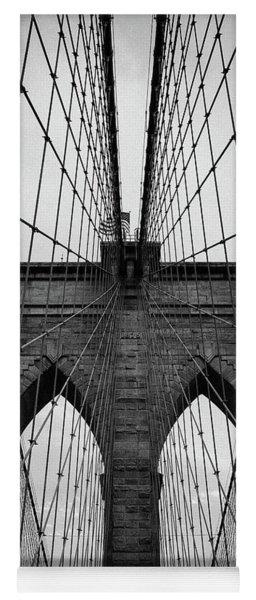 Brooklyn Bridge Wall Art Yoga Mat