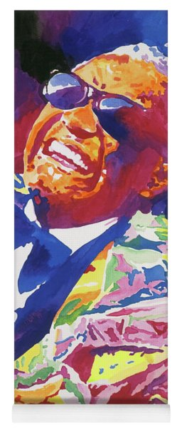 Brother Ray Charles Yoga Mat