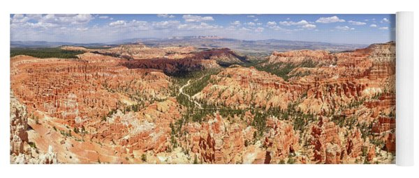 Yoga Mat featuring the photograph Bryce Canyon Hoodoos by Mark Duehmig