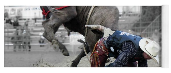 Bull Rider Yoga Mat