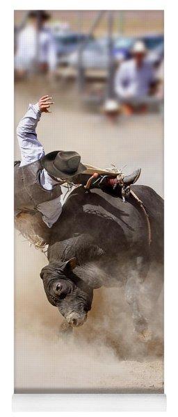 Bull Riding Yoga Mat