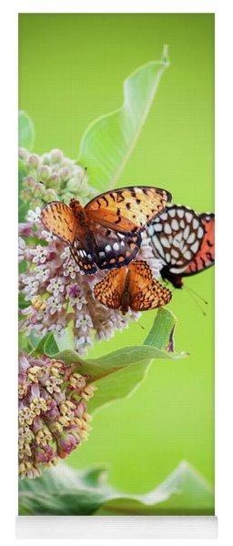 Butterfly Buffet II Yoga Mat