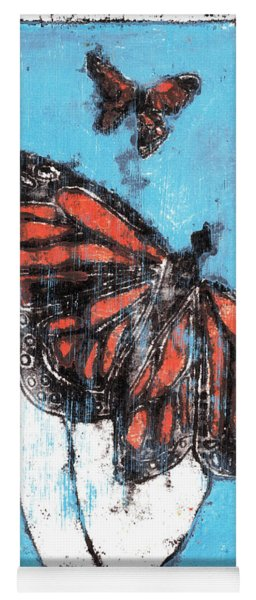Butterfly Garden Summer 1 Yoga Mat