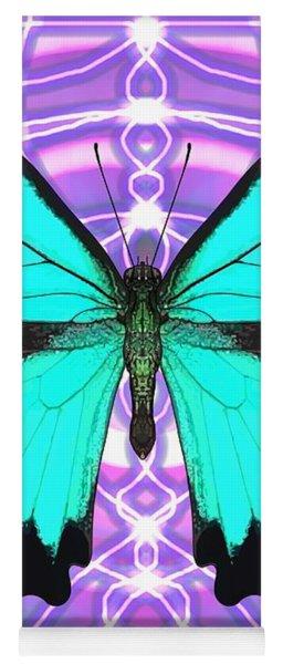 Butterfly Patterns 19 Yoga Mat