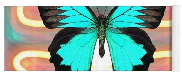 Butterfly Patterns 21 Yoga Mat