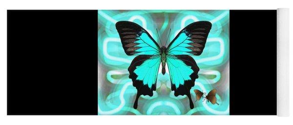 Butterfly Patterns 22 Yoga Mat