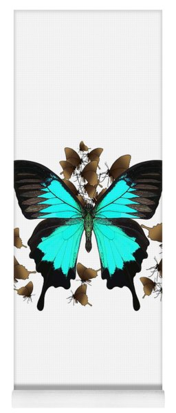 Ulysses Butterfly All A Flutter Yoga Mat
