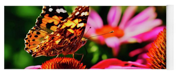 Butterfly Side Yoga Mat