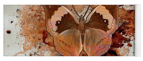 Butterfly Splash Yoga Mat
