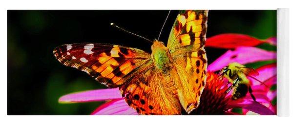 Butterfly Wings Open Yoga Mat