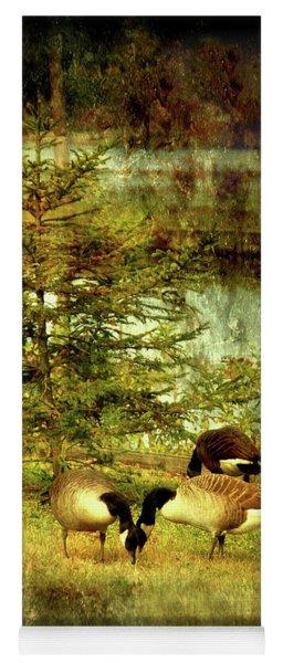 By The Little Tree - Lake Carasaljo Yoga Mat