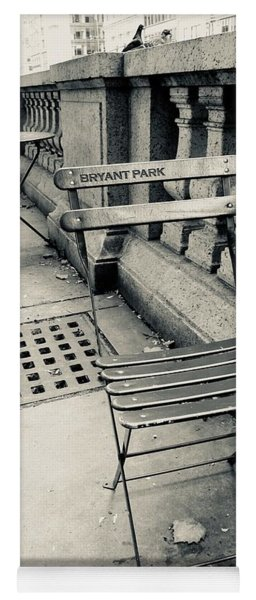 Yoga Mat featuring the photograph Byrant Park by Geraldine Gracia